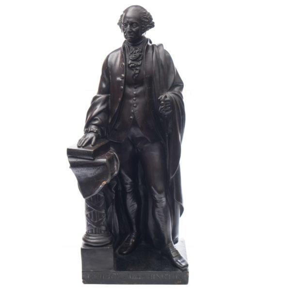 George Washington terracotta model
