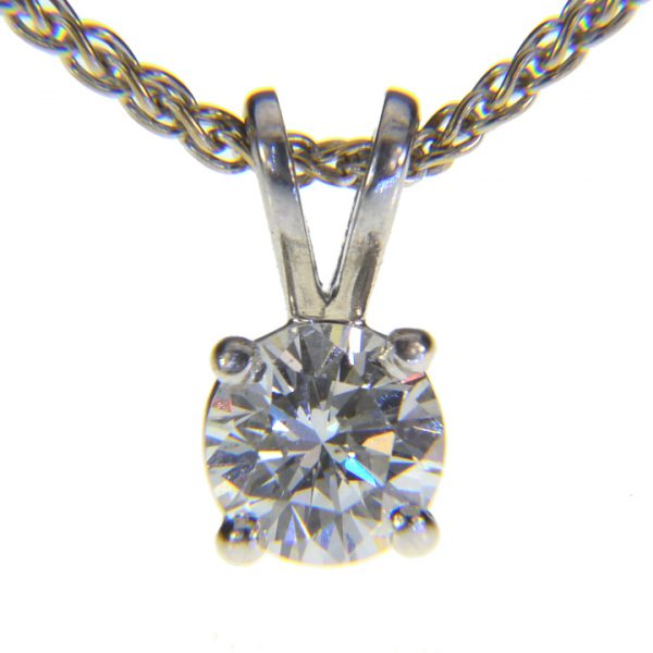 Half carat Diamond pendant
