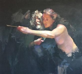 Lenkeiwicz model & painter