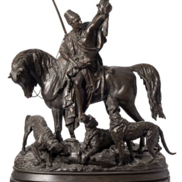 Arthur Waagen bronze Kabyle