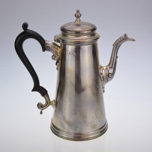 Victorian tapering coffee pot
