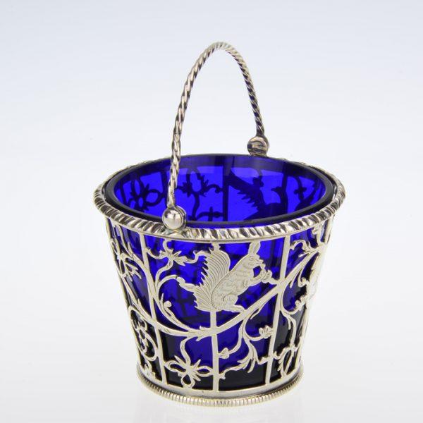 cream pail Francis Spillsbury II London 1771