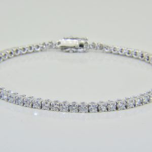 4cts diamond tennis bracelet