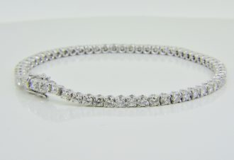 4cts diamond tennis bracelet