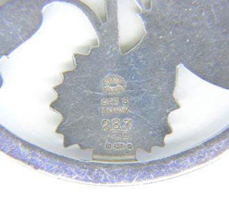 Georg Jensen silver butterfly brooch no 283