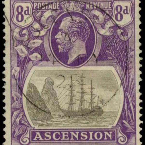 Ascension Island 8d stamp