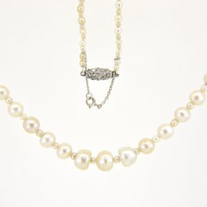 natural pearl necklace for sale
