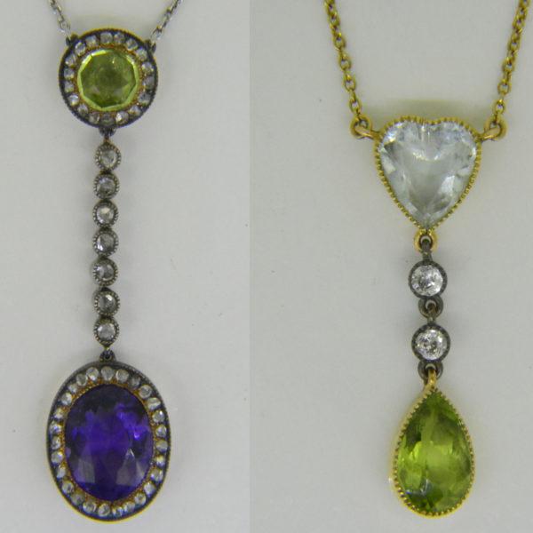 suffragette pendants