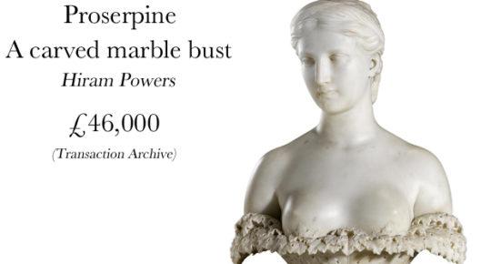 Proserpine Bust