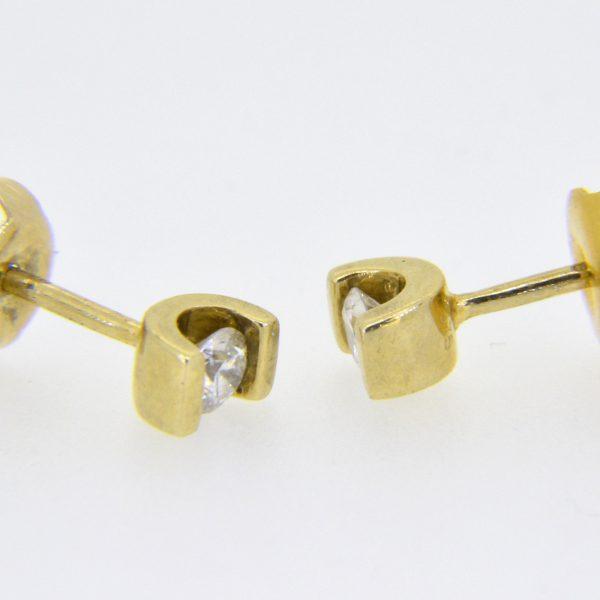 quarter carat diamond studs
